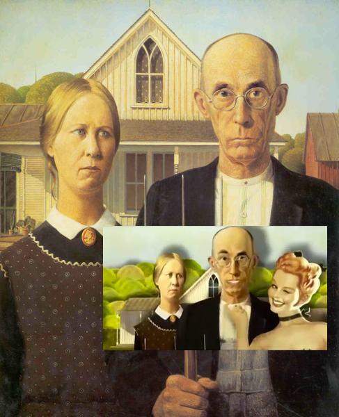 American Gothic Bild