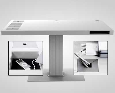 funktionsm bel milk der arbeitstisch. Black Bedroom Furniture Sets. Home Design Ideas