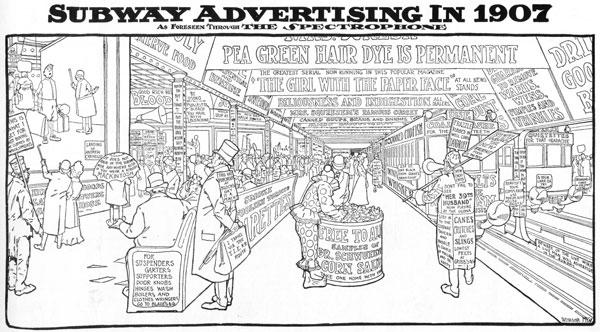 Windsor McCay Subways of the future